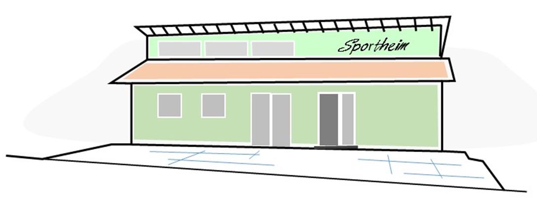 Sportheim Farbskizze